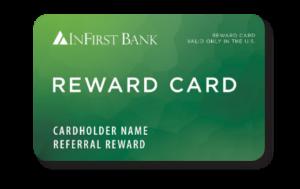 InFirst Bank's Reward Card